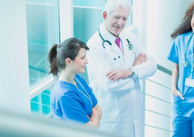 Ciclo Grado Medio en <b>Cuidados Auxiliares de Enfermería</b>