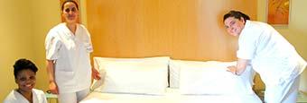 Curso de camarera de pisos