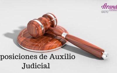 Habilitados los certificados de notas de Auxilio Judicial