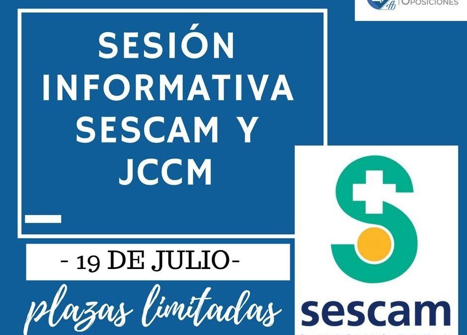 Sesión Informativa GRATUITA SESCAM y JCCM