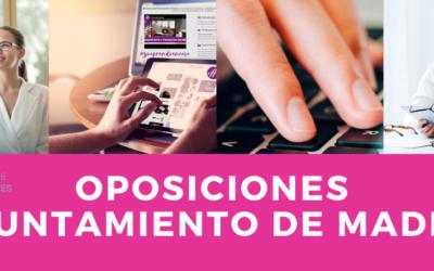 Procesos selectivos para Personal Funcionario del Ayuntamiento de Madrid
