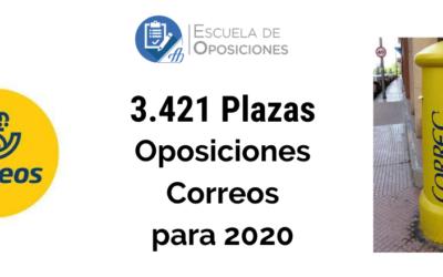 Toda la información de las Oposiciones para Correos en 2020