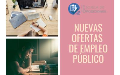 Nuevas Ofertas de Empleo Público