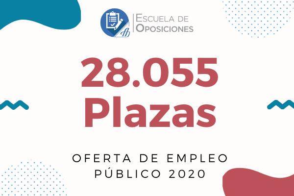 Publicada la Oferta de Empleo Público de 2020