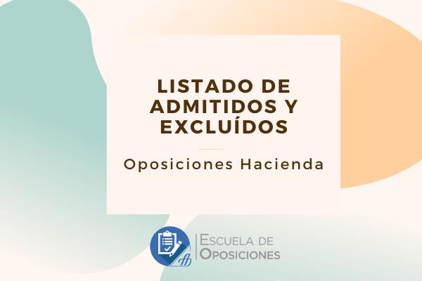 Examen Oposiciones Hacienda