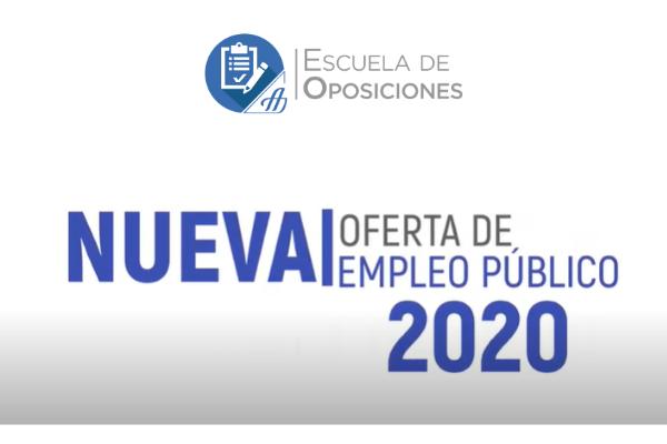 Sesión Online Nueva Oferta de Empleo Público 2020
