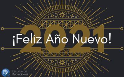 ¡Feliz 2021 desde Escuela de Oposiciones Aranda Formación!