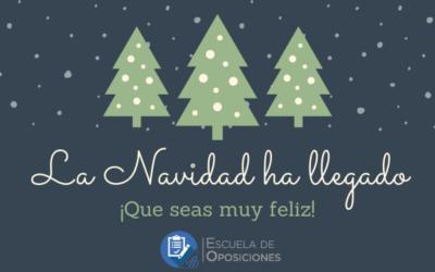 Escuela de Oposiciones Aranda Formación os desea una Feliz Navidad
