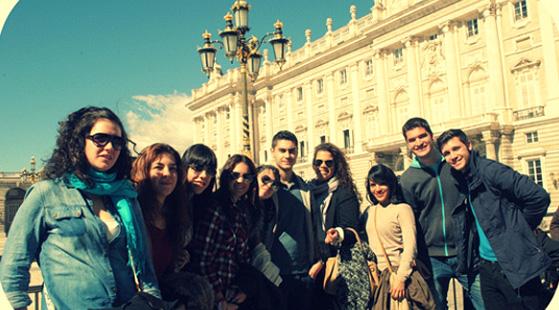 Excursión de los alumnos de Turismo