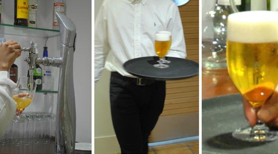 5 pasos para tirar una cerveza