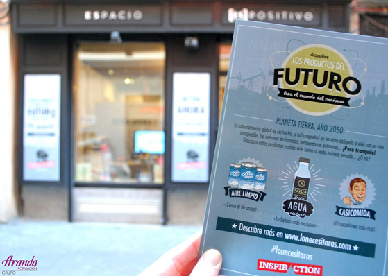 Los productos del futuro… en un escaparate