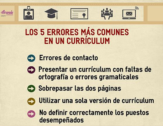 Los 5 errores mas comunes en un curriculum02