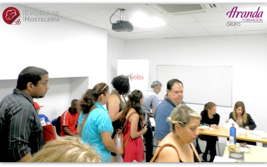 I Feria de Empleo y Hostelería Aranda Formación