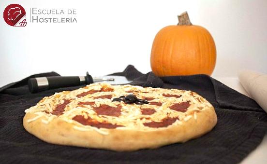 Pizza de Calabaza… ¡terrorífica!