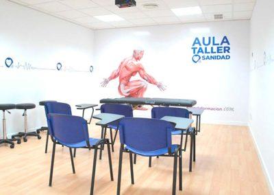 Centro Aranda Formación  C/Raimundo Fernandez Villaverde 11