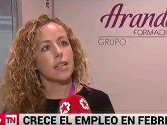 Entrevista de Telemadrid a Úrsula Arribas, docente de la Escuela de Oposiciones Aranda Formación de Madrid