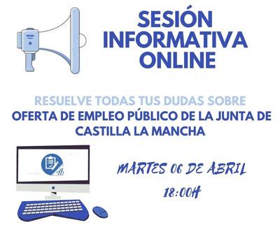 Sesión Informativa ONLINE: Oferta de Empleo Público 2020